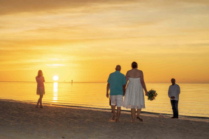 Sunrise at Smathers Beach