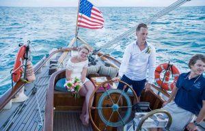 When and If Sailing Wedding
